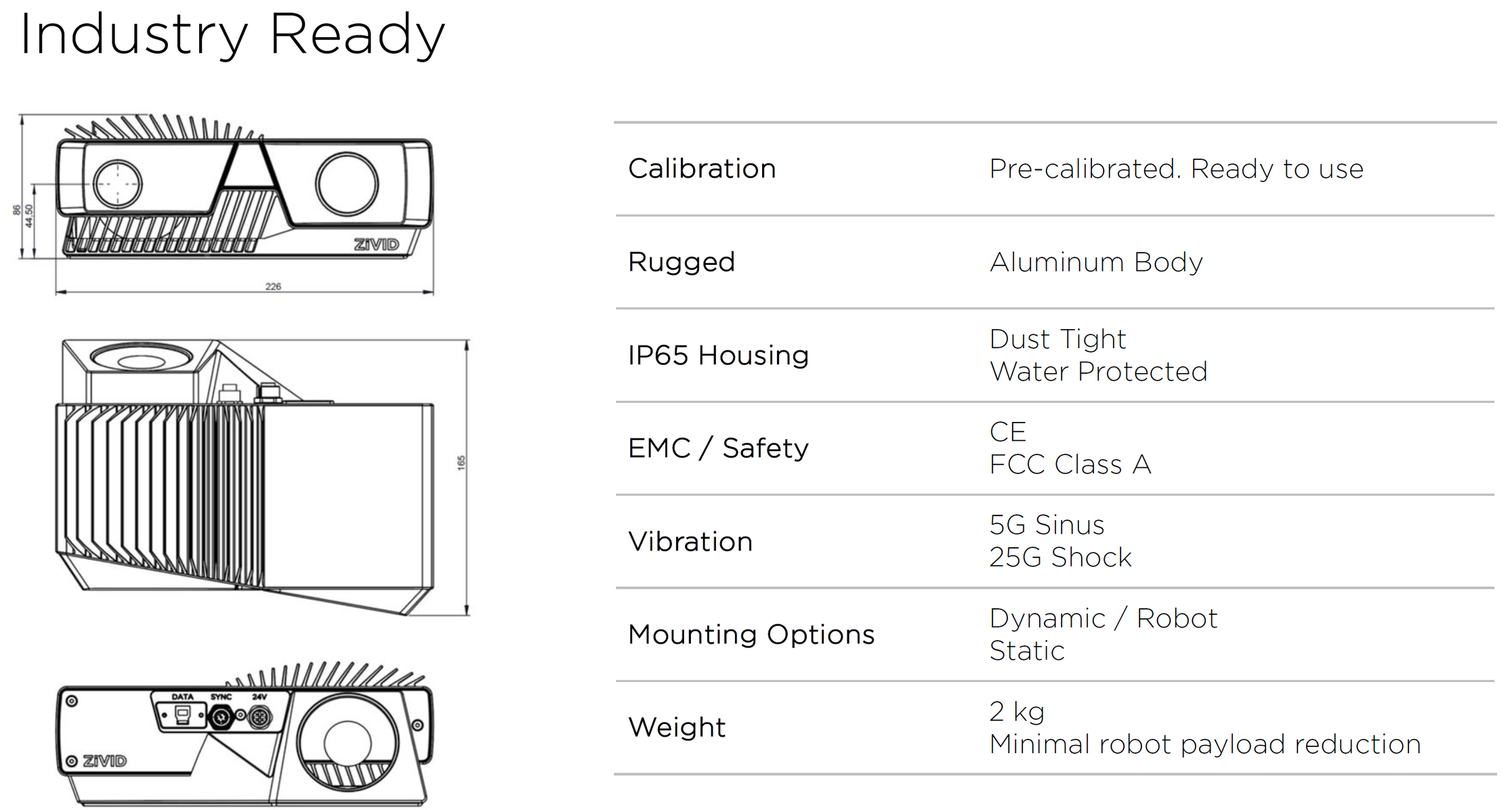 Zivid-One-IP65-Industry-Ready